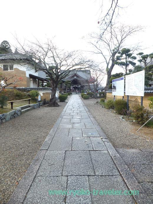 20130128_橘寺・参道
