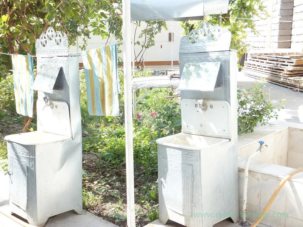 3日目・おひる(手洗い場)
