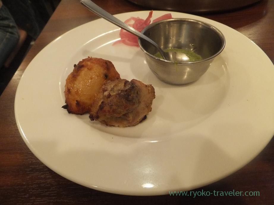 Chicken tikka (Tandoor set)