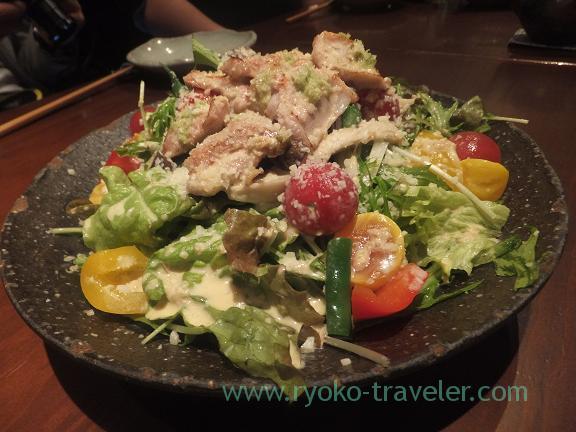 Chickens salads, Yamadaya