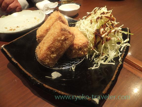 scallops croquette, Yamadaya