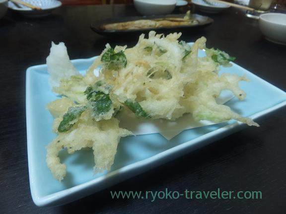 Ice goby tempura, Wakuitei
