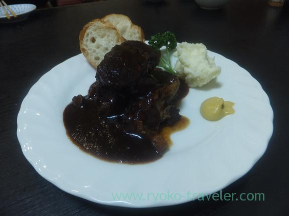 Stewed wagyu beef with red wine, Wakuitei