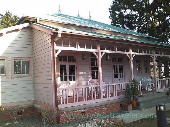 Appearance of Yokohama Rubber Co.Ltd Old Hiratsuka factory memorial house (Hiratsuka)