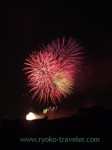 Edogawa ward fireworks display2 2013