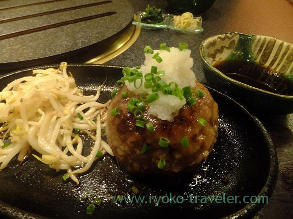 Hamburger steak, Syoutaian (Funabashi)
