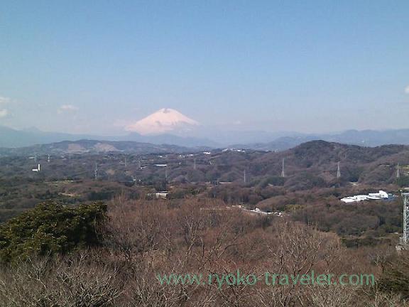 Mt.Fuji Appeared (Oiso)