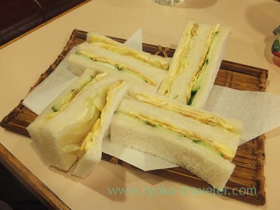 Tamago sandwich, Kissa Hiyoko (Tsukiji)