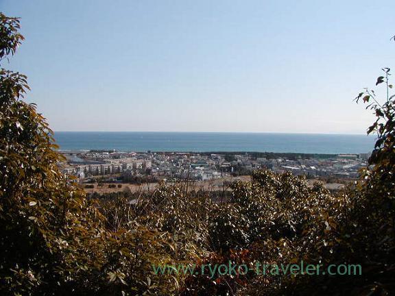View from Shonan daira hills 2 (Oiso)
