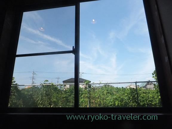 Out of the window, Handi restaurant (Atago)