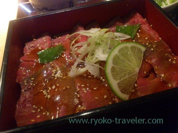Roast beef box, Edomae-Niku-kappo Miyashita (Yurakucho)