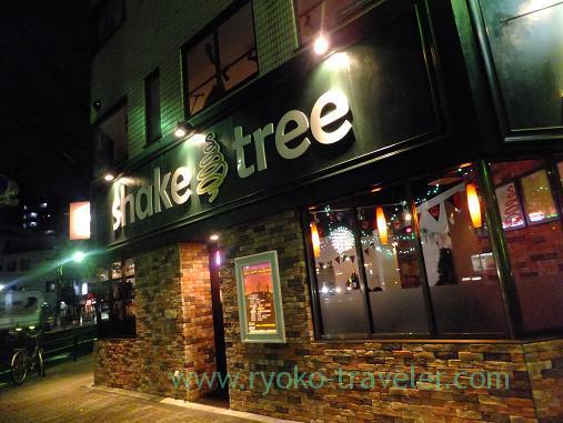 Appearance, Shake tree (Kinshicho)