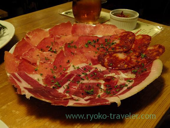 Assorted uncured ham, Hachijuro-Shoten (Funabashi)