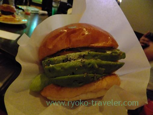 Avocado hamburger into the paper, Shake tree (Kinshicho)