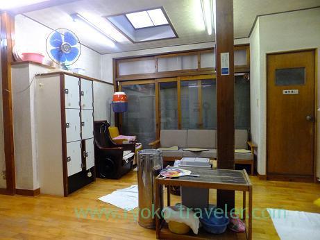 Dressing room, Tamaruyu (Funabashi)
