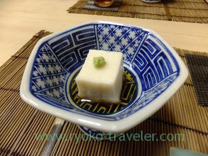 Sesami tofu, Kazumiya (Yushima)