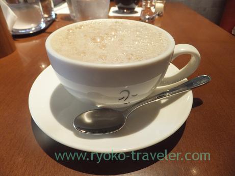 Cafe au lait, Nishi-Funabashi coffee laboratory (Nishi-Funabashi)