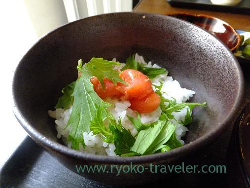 Mentaiko bowl, Ikenoya (Kachidoki)