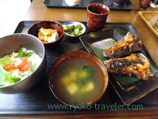 Tunas chin set, Ikenoya (Kachidoki)