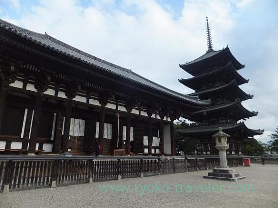 Appearance, Kofuku-ji, (Nara)