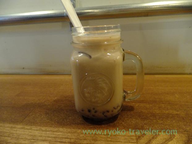 Azuki latte, Turret Coffee (Tsukiji)