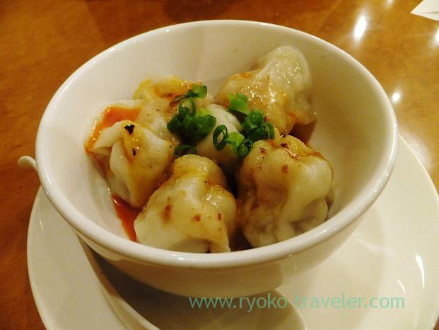 Boiled dumplings, Kawanami (Funabashi)