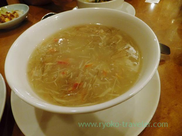 Shark fin soup,  Kawanami (Funabashi)