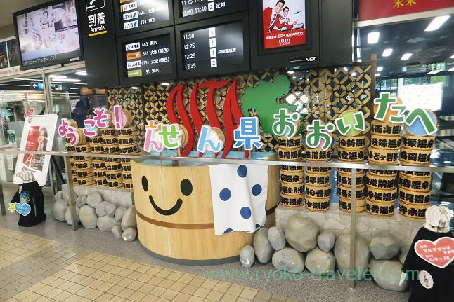 Oita airport, Yufuin (Oita 2015 Spring)