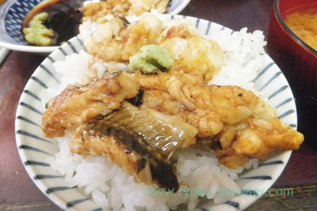Conger eel on the rice, Yonehana (Tsukiji Market)