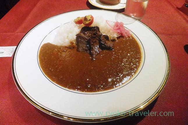 Deer keema curry with tandoori beef heart, Apicius (Yurakucho)