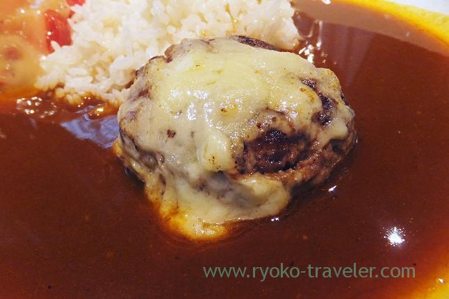 Hamburger steak, Chez Inno (Kyobashi)