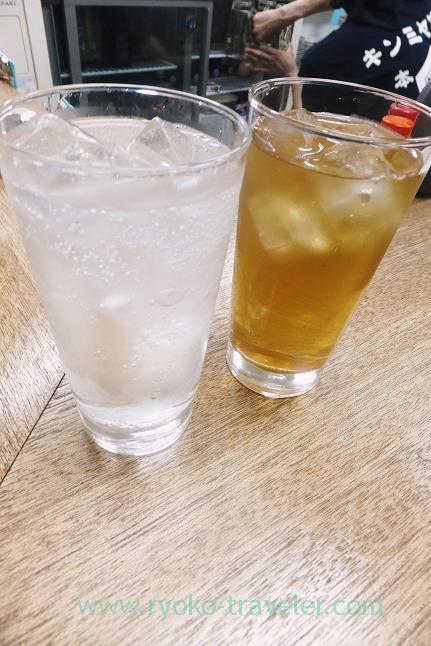 Highball and oolng tea, Masuyama (Funabashi)