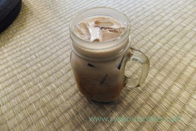 Iced cafe latte, Turret coffee (Tsukiji)