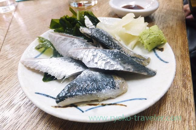 Vinegared sardine, Masuyama (Funabashi)